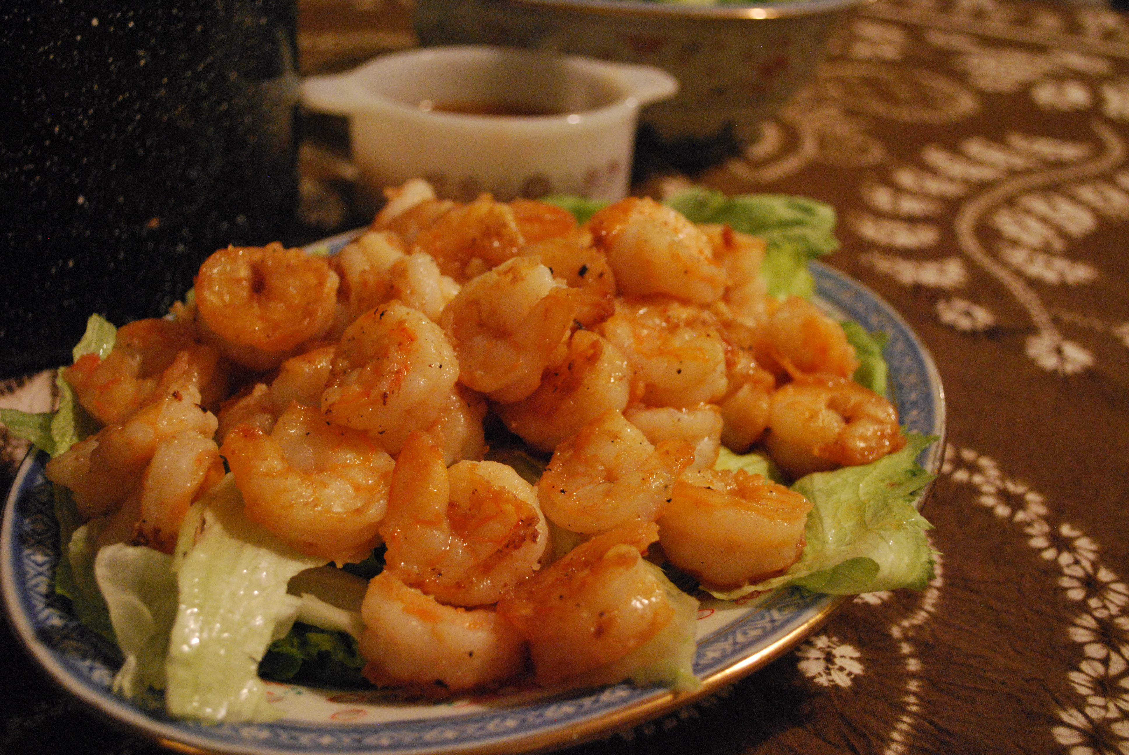 Happy shrimp stir fry cast iron happy shrimp stir fry forumfinder Gallery