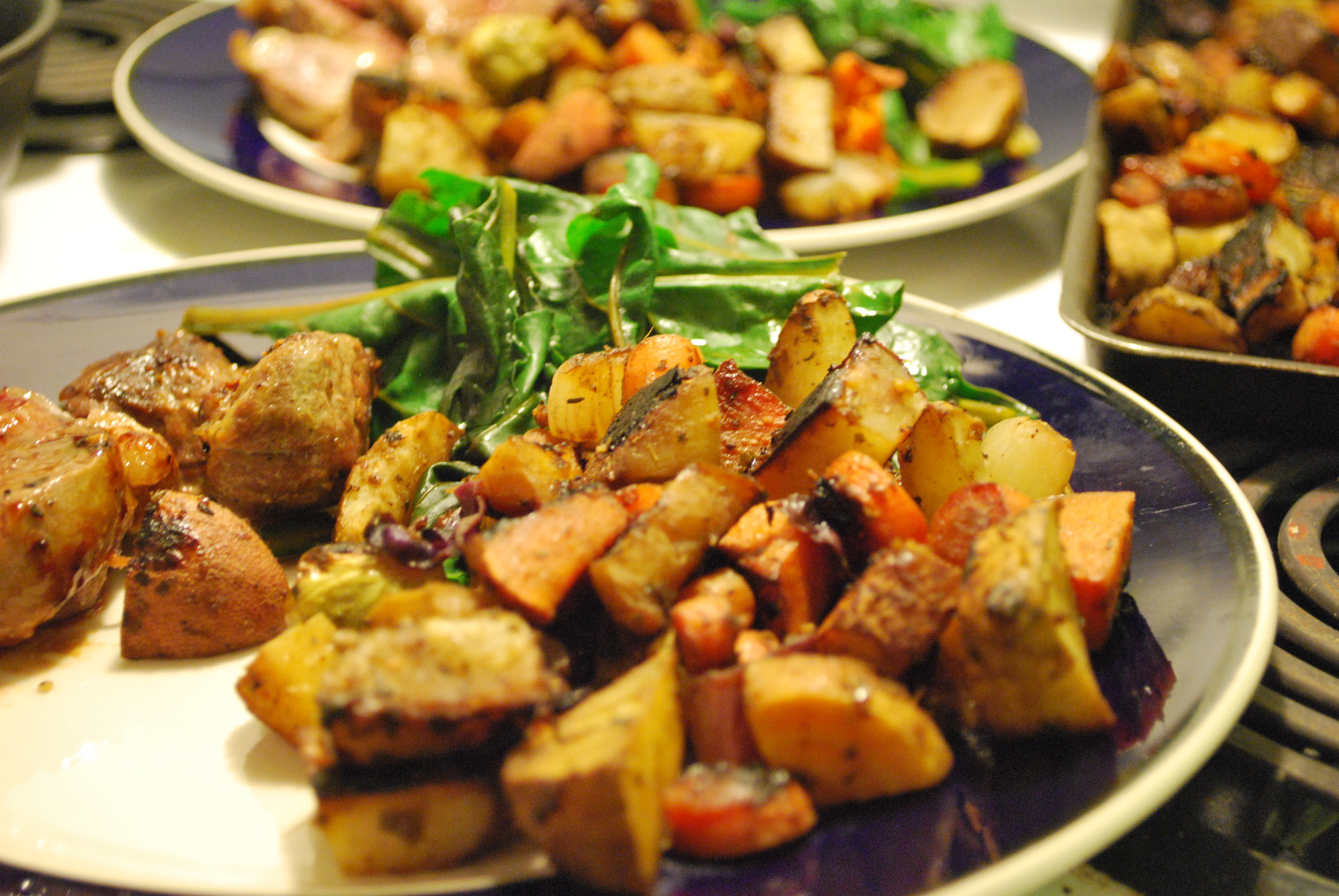 Roasted Winter Vegetables | Cast Iron