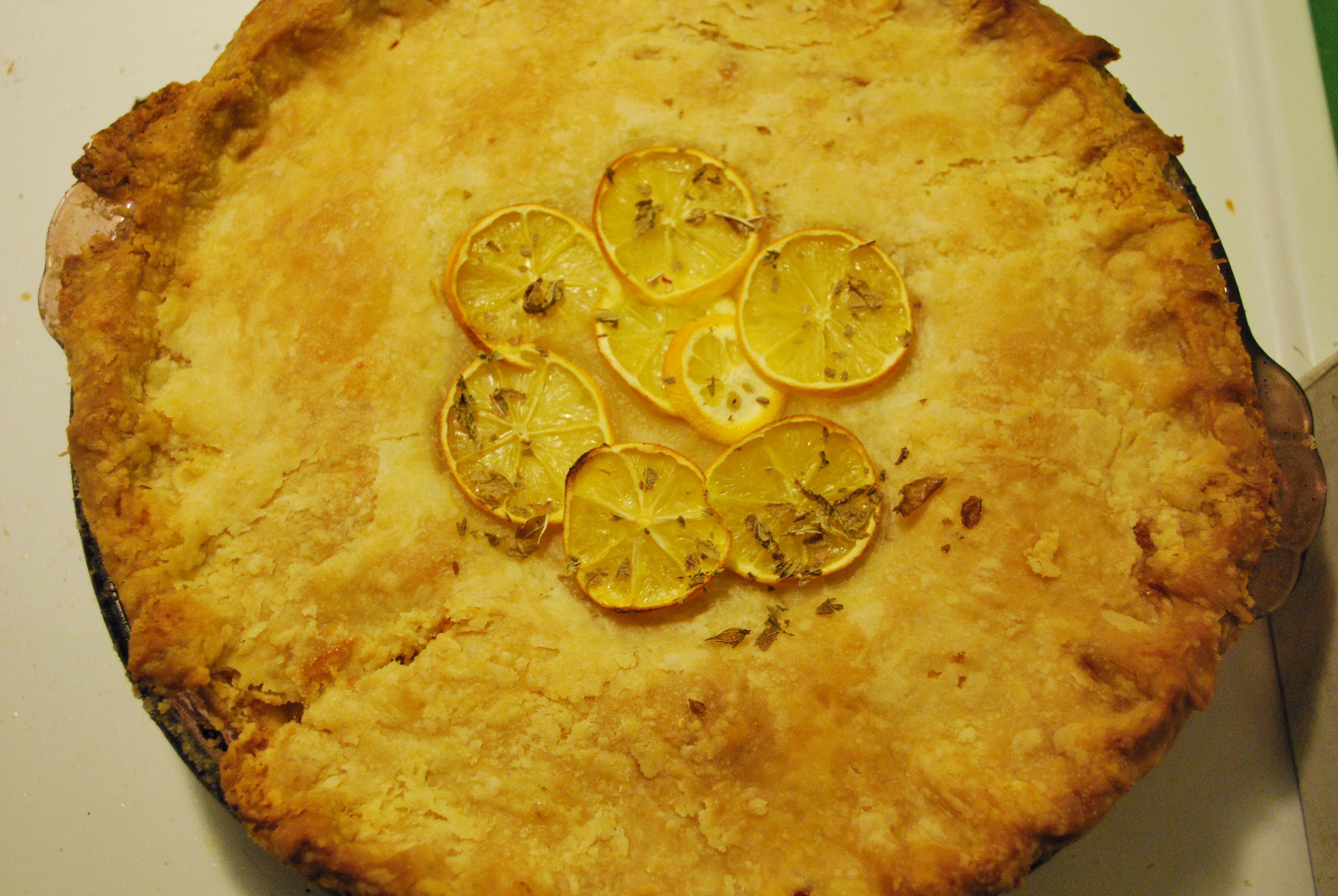 Shaker Lemon Pie | Cast Iron