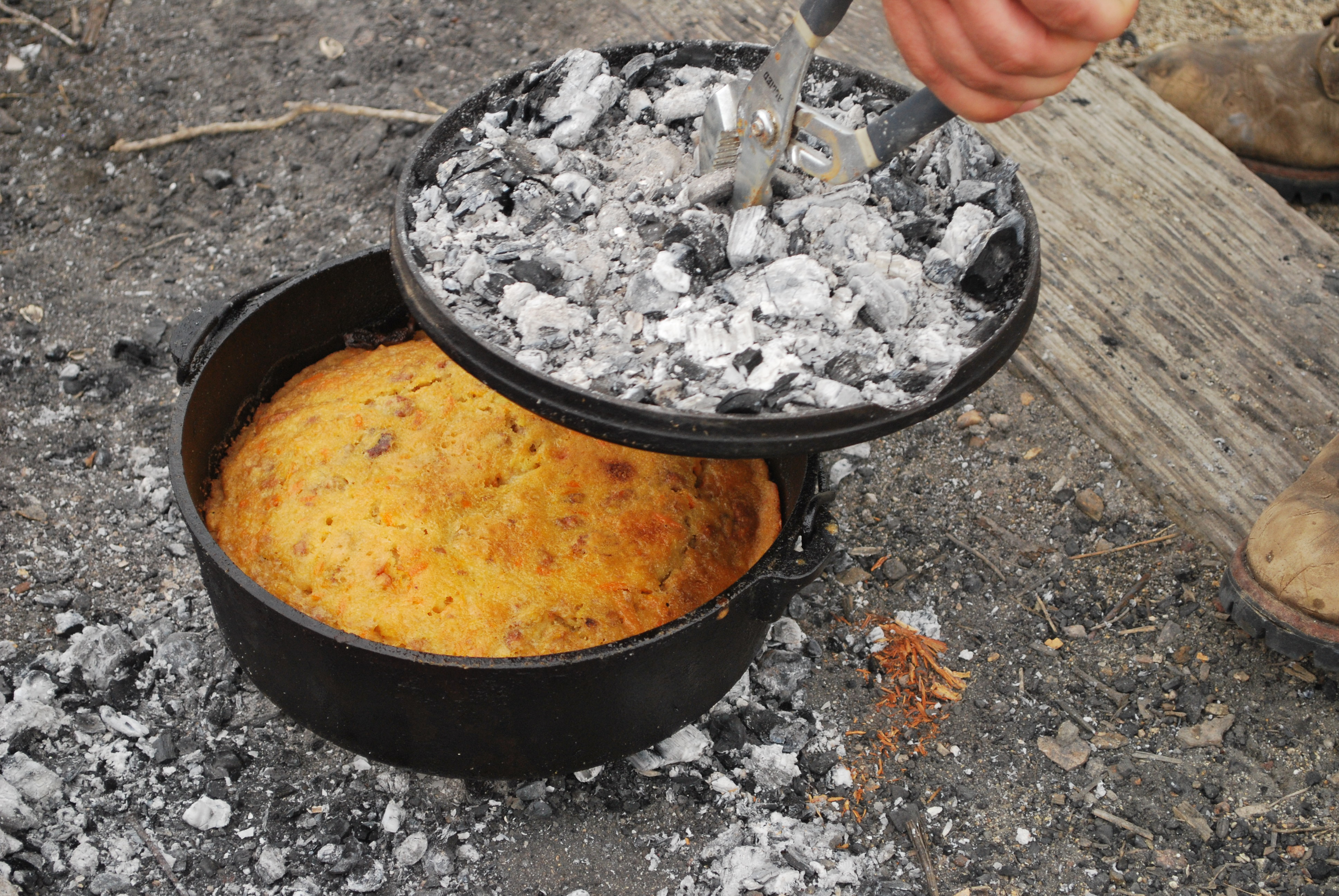 Cast Iron Dutch Oven Cake Recipes