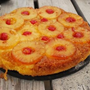 Dutch Oven Pineapple Upside DownCake!
