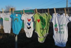Birth Art, Part I….Custom Onesies!