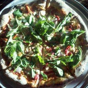 Pea-Top Pizza